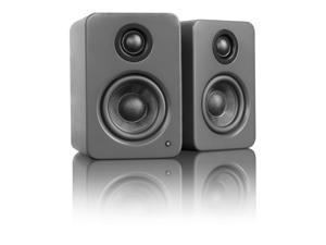 Kanto YU2 Powered Desktop Speakers, Matte Grey