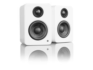 Kanto YU2 Powered Desktop Speakers, Gloss White