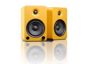 Kanto YU5 Powered Bookshelf Speakers with Bluetooth Technology (Matte Yellow)