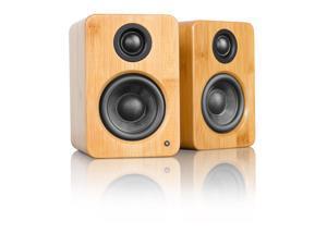 Kanto YU2 Powered Desktop Speakers (Bamboo)