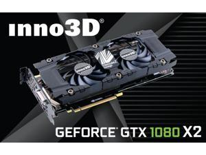 Inno3D Nvidia Geforce GTX 1080 Twin X2 Video Graphics Card