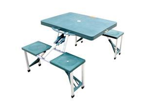 Outsunny Portable Picnic Table – Green