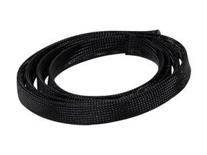 NavePoint Tidy Cable Management Sock 20mm diamater Black