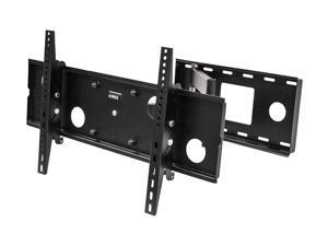 NavePoint Single Arm Full Motion Corner LED LCD TV Wall Mount Bracket 37-60 Inches Black