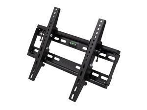 NavePoint Wall Mount Tilt Slim Bracket LED LCD Monitor Plasma Flat 22-44 Inches Black