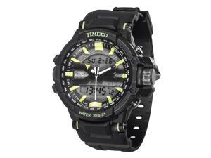 Time100 Dual Time Multifunction Outdoor Green Sport Electronic Watch #W40110G.01A