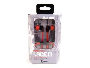Ecko Lace 2 Ear Buds w/Inline Mic Red