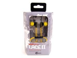 Ecko Lace 2 Ear Buds w/Inline Mic Yellow