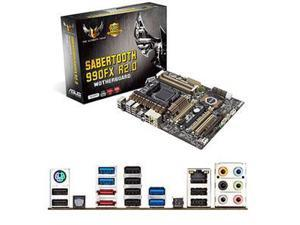 Asus SABERTOOTH 990FX R2.0 Desktop Motherboard - AMD 990FX Chipset - Socket AM3+