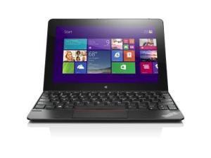 Lenovo ThinkPad 20C1002UUS 10.1-Inch 128 GB Tablet (Black)