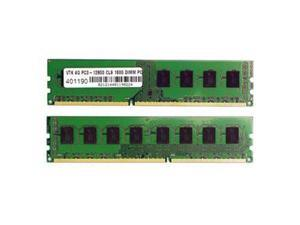 Visiontek 8GB (2 x 4GB) 240-Pin DDR3 SDRAM DDR3 1600 (PC3 12800) Desktop Memory Model 900626