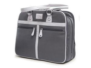 "Mobile Edge Verona Carrying Case (Tote) for 16"" Notebook, Tablet, Smartphone - Graphite, Stone, Tartan"