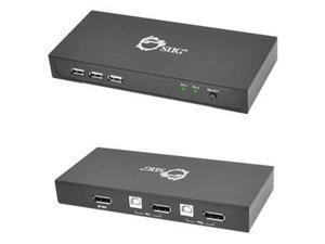 SIIG DisplayPort 2-Port KVM Switch