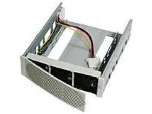 Hard Drive Cooler With 3 Front Fans and Hard Drive Rails