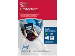 McAfee Total Protection, PC/Mac/Mobile, Unlimited Devices