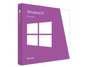 Microsoft Windows 8.1, 32/64 Bit, Medialess OEM/System Builder, French