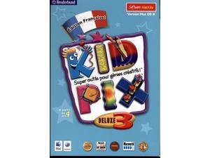 Kid Pix Deluxe 3x Version Francaise