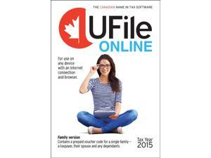 Thomson Reuters 2015 UFILE Online Single or Family Tax Returns