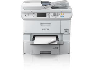 Epson WorkForce Pro WF-6590 (C11CD49201) Up to 34 ppm 4800 x 1200 dpi USB/Ethernet/NFC Color Multifunction Inkjet Printer