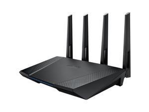 ASUS RT-AC87U/CA Wireless-AC2400 Dual-band Gigabit Router IEEE 802.11a, IEEE 802.11b, IEEE 802.11g, IEEE 802.11n, IEEE 802.11ac, IPv4, IPv6