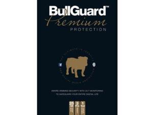 BullGuard Ltd. Premium Protection Retail CD Tuckin box (3 user/1 year)