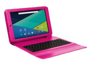Visual Land Prestige Elite 10QS-10.1-Inch QuadCore Lollipop 5.0 Android Tablet with Keyboard Case, 16GB, IPS 1280x800 HD