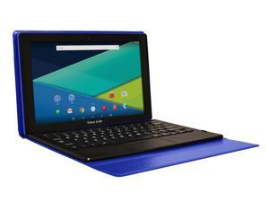 Visual Land Prestige Elite 11Q-11.6-Inch Quad-Core Android 5.1 Lollipop 32GB Tablet with Docking Keyboard Case, IPS 1366