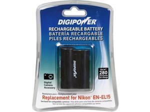 "Replacement for Nikon EN-EL15 Battery Pack"""