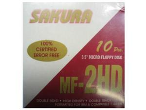 "Sakura 3.5"" Floppy Disks - Pack of 10"