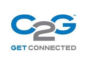 C2G 5ft Wiremold Corduct Overfloor Cord Protector - Black
