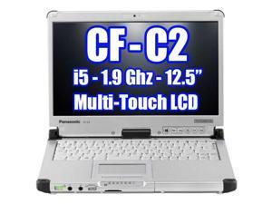 Panasonic Toughbook CF-C2 Intel Core i5-4300U 1.9GHz, 500GB Hard Drive, 4GB Ram