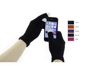 6 Pack Touch Screen Gloves for Smartphones - Assorted Touchscreen Gloves for Women