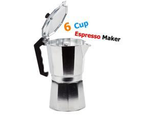 Aluminum Stovetop Expresso Maker - Coffee Maker Pot for 6 Cups
