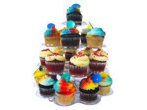 4 Tier 24 Cupcake Stand Dessert Tower