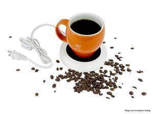 Desktop Coffee Warmer Pad, Portable Heating Tray for Cups - Candle & Wax Warmer