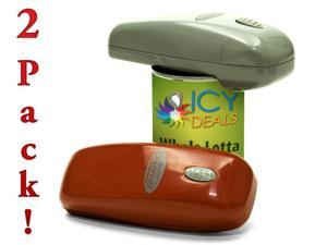 2 Pack Handy Can Opener - Electric Automatic Can Opener