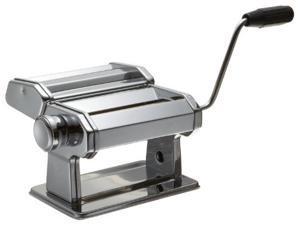 Stainless Steel Pasta Machine - Professional Grade Hand Operated Pasta Maker