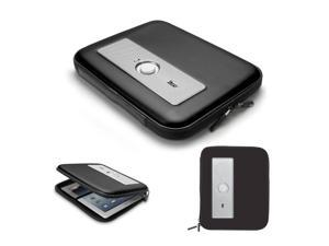 Portable Speaker Tablet Case - Stereo Speaker Case for iPad, iPad 2, MP3 Player (Black)