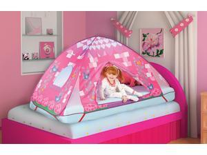 Princess Fairy Tale Kids Bed Tent – Girls Play Tent – Pop Up Indoor Tent