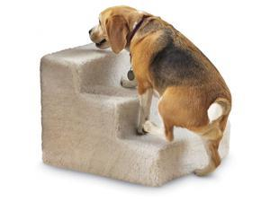"Soft 3 Step Dog Stairs or Pet Steps – 12"" High Pet Stairs or Dog Steps"