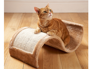 Wavy Cat Scratcher Lounge – Curved Cat Scratching Furniture – Cat Scratchers