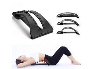 Lumbar Support Back Stretcher Device for Back Pain Relief - Arched Back Lumbar Stretcher