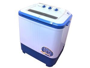 Panda Twin-tub washer with washing capacity of  7 LBS floor draining with a spinner