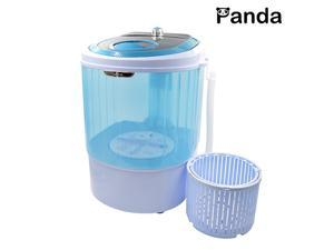 Panda Small Mini Portable Counter Top Compact Washing Machine with Spin Basket 5.5Lbs Capacity