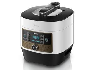 MIDEA Stainless Steel 7-in-1 Multi-Functional Programmable Pressure Cooker, 5Qt/900W