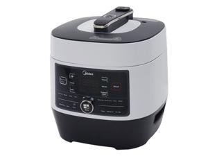Midea MY-SS6062 Power 8-in-1 Multi-Functional Programmable Pressure Cooker, 6Qt/1000W Stainless Steel by MIDEA