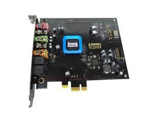 Dell Creative Sound Blaster SB1350 Recon 3D PCI-E X1 Sound Card - Sound Core3D Audio Proccesor 24 bit Resolution 102DB SNR, J75NW