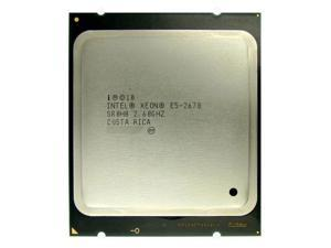 Intel Xeon E5-2670 2.60GHz 8 Core Processor, 20MB Cache, Sandy Bridge EP Socket 2011 with Thermal Grease, does not include heatsink, SR0H8