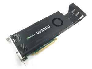 IBM Nvidia Quadro K4000 Graphics Card 3GB GDDR5 Memory PCIe 2.0x16  192-Bit Full Height Bracket, 03T8312