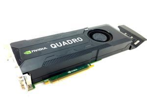 HP NVIDIA Quadro K5000, 4GB GDDR5 Memory, 256-Bit Memory Interface, Full Height Workstation Graphics Card, 701980-001